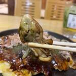 お好み焼き もり - お好み焼き もり@岡山 カキオコの牡蠣