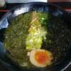 海味家 - 料理写真:海味家(うみや)ラーメン¥700  自家製麺は好みが別れるところ