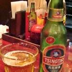 中国家庭料理 楊 - 青島ビール 500円