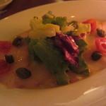 カサ ディ フルッタ - 鮮魚のカルパッチョ