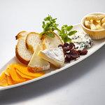 キリンシティ - チーズ盛り3種