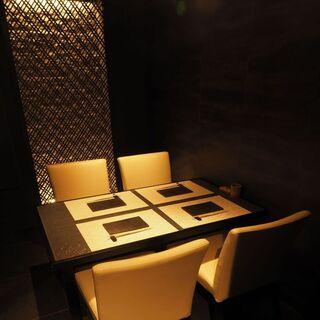 2~8名様までご利用可能な個室席