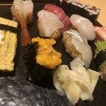 豊鮨 - ・ぼたんにぎり 1,500円(税込)