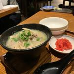 中村屋 - 鶏白湯醤油ラーメン