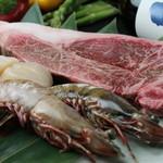 鉄板焼 ろじ - 市場で直接仕入れるから旬で美味しい魚介などがリーズナブルに!季節のおすすめは仕入の度に変わる!