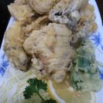 海鮮料理 磯 - カキの天ぷら