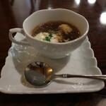 125541669 - ほうじ茶のスープ