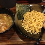 麺食い 慎太郎 - 魚介豚骨つけ麺並盛り 味玉トッピング
