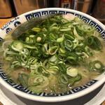御天 - 料理写真:ねぎチャーシュー麺