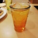北海道料理 ソバチョウ - リボンナポリンソーダ