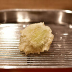 てんぷら 深町 - 蕗の薹(ふきのとう)