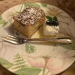 ゆりあぺむぺる - りんごのケーキ ¥650- (税込)
