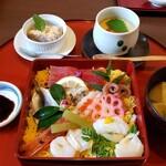 創作おもてなし料理 美膳 - ちらし寿司