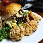 ステーキ那須 - ハンバーガー