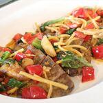アルページュ - ポーク、野菜のXO醬炒めで食
