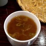 しながわ翁 - 蕎麦湯。濃い。