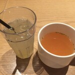 125553601 - スープとドリンク付き