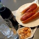 クウェッション - 料理写真:ホットドックセット(590円税込)