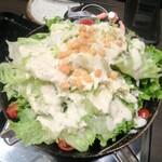 米と魚 酒造 米家ル - 四季折々の鮮菜を使用した特性サラダ