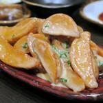 米と魚 酒造 米家ル - 雲丹マヨソースの揚げじゃが