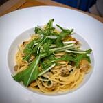 サンタルチア - あさりと水菜のパスタ
