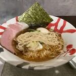 煮干し拉麺 アンチョビー - ストレート細麺