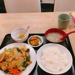 Wakishokubou - 豚肉とキクラゲの玉子炒め