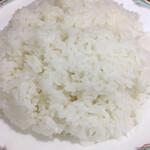 味のおぐら - W ライス ( ´θ`)