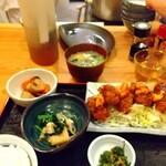 なが沼 赤坂本店 - 牡蠣フライ定食