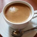 白井 - セットのコーヒー。めちゃウマ!