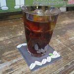 コーヒー ポトホト - 水出しアイスコーヒー(300円)