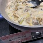 ラーブル - 帆立のクリーム煮
