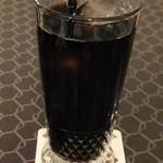 ラ・ヴァチュール - アイスコーヒー470円