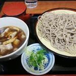 かのや - 「肉汁せいろそば(¥550)」