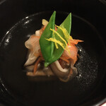 優雅亭 盛山 - 海老芋真薯のお椀