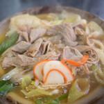 糸庄 - 料理写真:もつ煮うどん