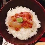 125587310 - 鯛の胡麻味噌丼①