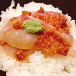 125587314 - 鯛の胡麻味噌丼②