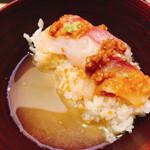 125587317 - 鯛の胡麻味噌丼(だし茶漬け)