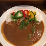 モジャカレー - 野菜カレー850円 辛さ増し50円