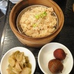 翠亨邨茶寮 - 2012年4月ちまき・ザーサイ・水菓子