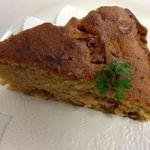 カフェ 陽溜 - いちじくのキャラメルケーキ