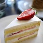アンドシュガー - 料理写真:苺のショート