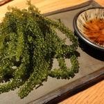 沖縄料理 馳走屋 楽 - 海ぶどう ¥650