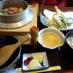 和幸 - 釜めし天ぷらセット
