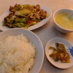 12559886 - ランチの「豚肉と長葱炒め」\600