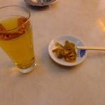 12559897 - 冷たいお茶と搾菜