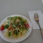 オリーブの木 - 料理写真:サラダ