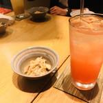 個室 肉炉端居酒屋 九州うまか屋 - ドリンク写真:赤羽サワー