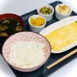 創作グリル YUKAI - 料理写真:鉄板焼き屋の出汁巻定食